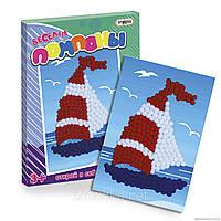 Набор для творчества Веселые помпоны Кораблик веселі помпони корабль Strateg Стратег 1010 002406