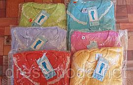 Пижамы махровые для девочек Junlilai  10/12-12/14-14/16 лет (S, M, L)