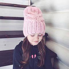 Вязаные шапки для детей - почему они будут актуальными зимой 2018