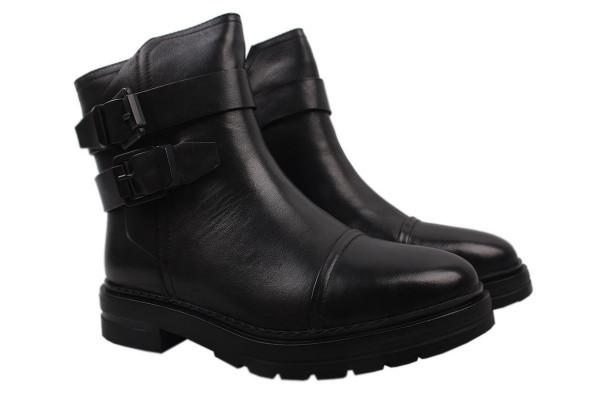 Ботинки Brocoly натуральная кожа, цвет черный