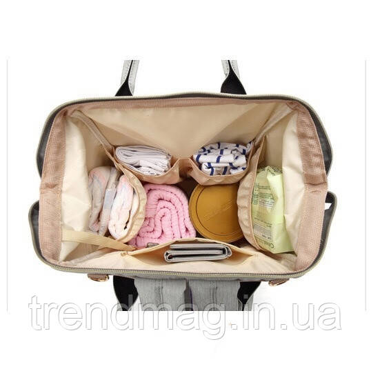 1679967401a0 Удобная Сумка для мам Рюкзак для Мамы На Прогулку Mom Bag