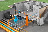 Монтаж систем водопровода, канализации внутренней и наружной. Полив капельный. Полив газона.