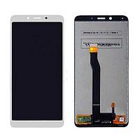 Дисплей (экран) для Xiaomi Redmi 6/Redmi 6A + тачскрин, белый