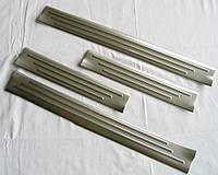 SsangYong Korando накладки защитные на пороги дверных проемов верхние