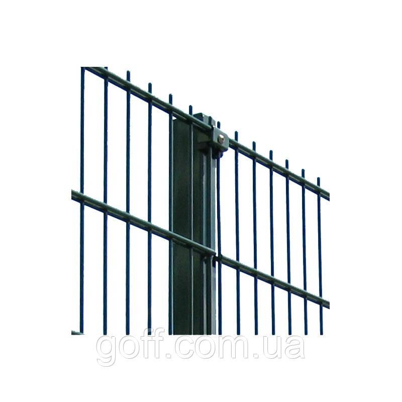 Забор из сетки - секция 1,0х2,5м ф5+6