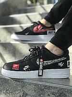 Мужские кроссовки Nike Air Force 1 Low  (ТОП РЕПЛИКА ААА+)
