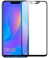 Защитное стекло 3D (Full Screen) Huawei P Smart Plus Черный