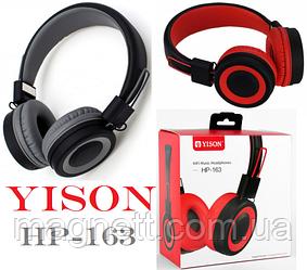 Повнорозмірні НАВУШНИКИ YISON HP-163