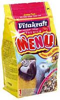 Vitakraft  Menu Корм для крупных попугаев - 1 кг
