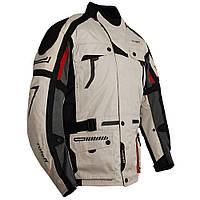 Roleff Chicago Jacket Long Grey/Black, S Мотокуртка текстильная защитой