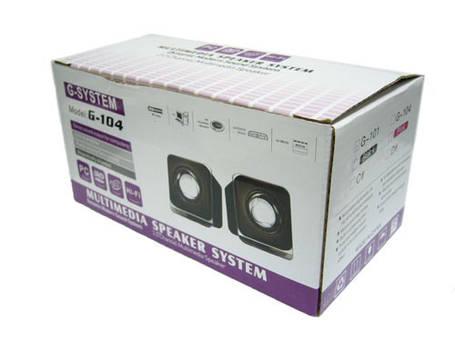 Портативная акустика для компьютера ноутбука (по типу sven)   G-104 R-19 R19, фото 2