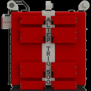 Котёл твердотопливный Альтеп TRIO 500 кВт (дрова, уголь)