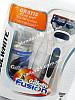 Мужской подарочный набор Gillette Fusion COOL WHITE  - станок на подставке, кассета, гель для бритья 75 мл, фото 2