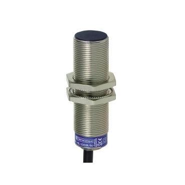 Індуктивний датчик M18 8мм NO 24...240VAC/DC кабель 2м