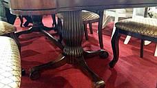Стол обеденный деревянный в классическом стиле Лиссабон Sof, цвет вишня, фото 2