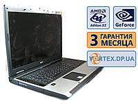 Ноутбук Acer Aspire 9300 17 (1440x900) / AMD Athlon 64 X2 TK-55 (2x1.8GHz) / GeForce Go 6100 / RAM 3Gb / HDD 120Gb / АКБ 0 мин. / Сост. 8.5 БУ, фото 1