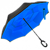 Зонт наоборот, зонт обратного сложения, ветрозащитный зонт с, антизонт, фото 8