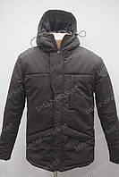 Зимняя спортивная мужская куртка черная
