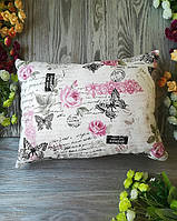 Подушка диванная розовые розы ,  40 см * 30 см
