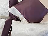 Комплект подушек   сирень и молочные завитки,5шт, фото 3