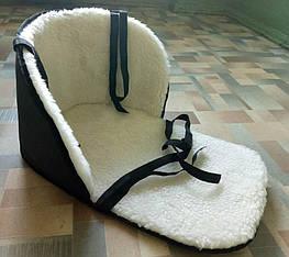 Матрац для санок дитячий з поліпропіленом всередині
