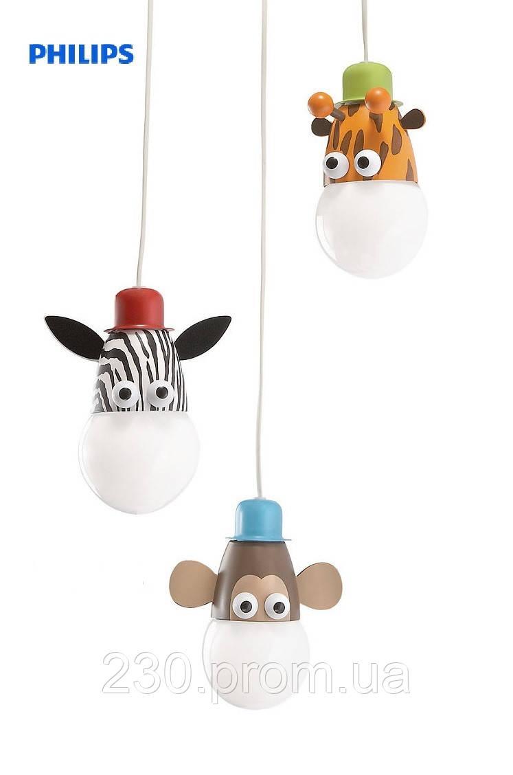 Детская люстра Philips Zoo mixed