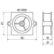 BV 2532_KA Кінцева втулка для труб