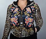 Велюровий спортивний костюм жіночий, Туреччина, розм 42,44,46,48,50, фото 2