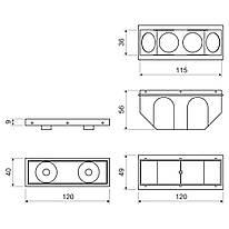 KBS-120_AB Коробка для бетону