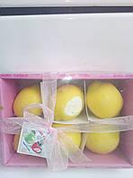 Набор ароматизированных свечей в виде лимона из 6шт