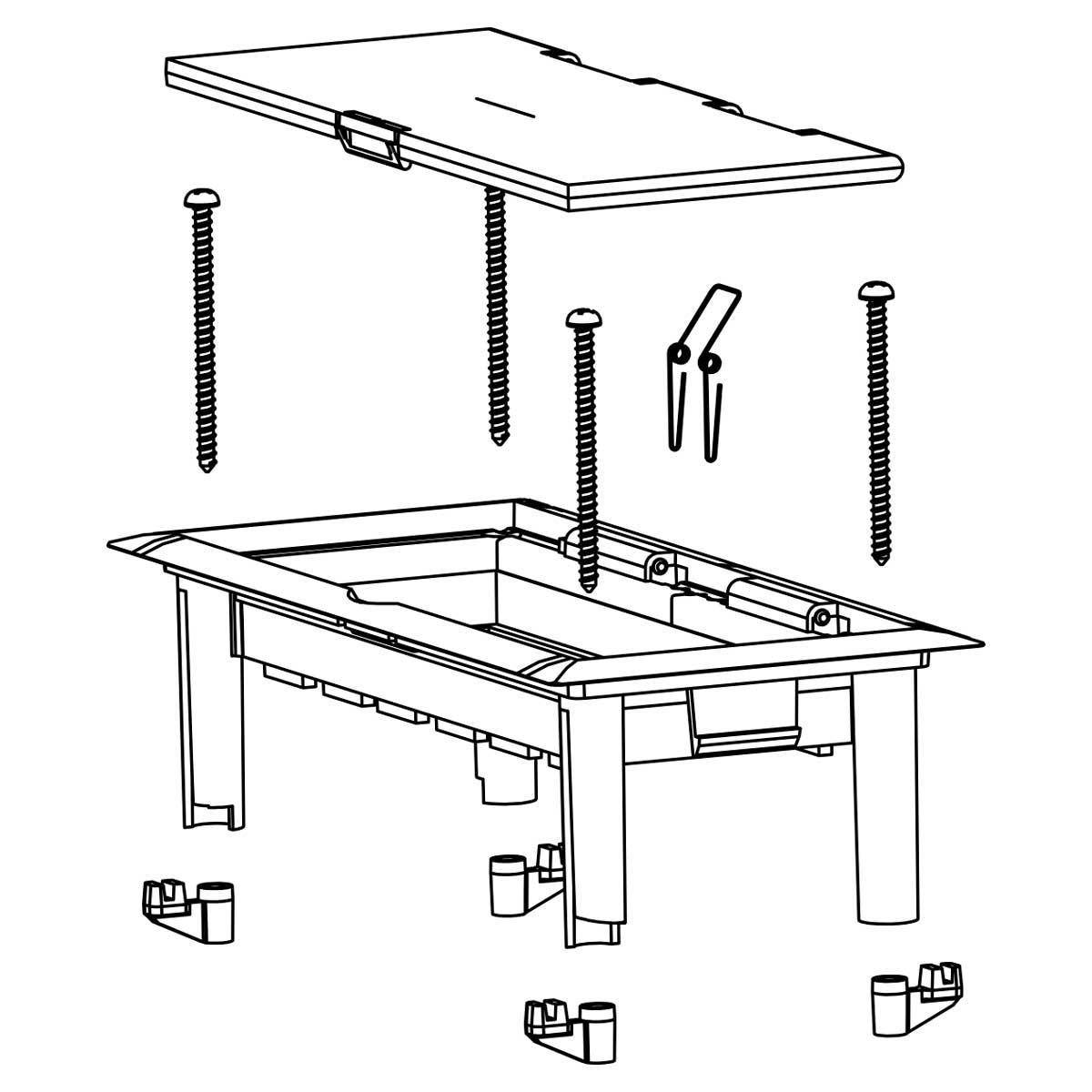 Коробка для приладів в кабель-канали серії РК, біла; 175x80x50 мм