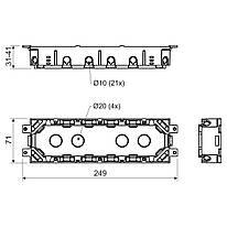 KPP 80_LB Коробка приладова підлогова