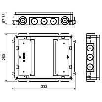 KUP 57_FB Універсальна коробка для підлоги