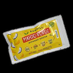 Батончик SUN FILL Манго-кокос, 40г, 10шт/уп, (150шт/ящ)