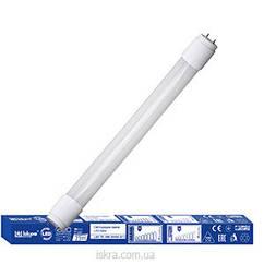 Лампа лінійна  світлодіодна Т8, 9 Вт, холодно біла, (G13), 220 В