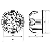 KUL 68-45/LD2_NA Розподільна коробка з кришкою V 68