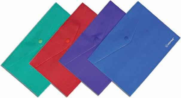 Папка з кнопкою Norma, 5019, В5, кольори в асортименті (1/12/180)