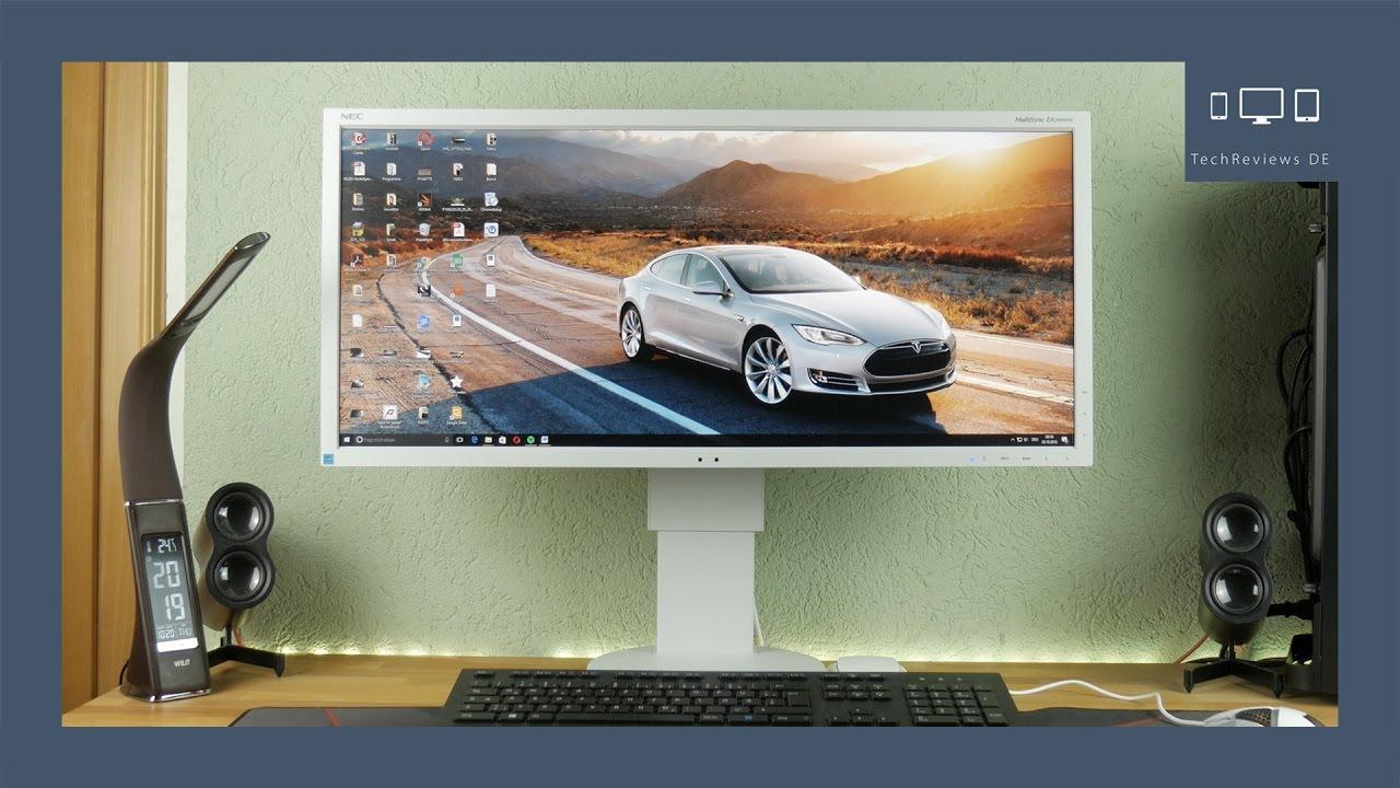 NEC EA294WMi, IPS, ultra wide, поворотный экран, industrial design, колонки, датчики