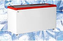 Лари и ящики морозильные