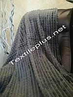 Простынь Plaid 200*230 серый