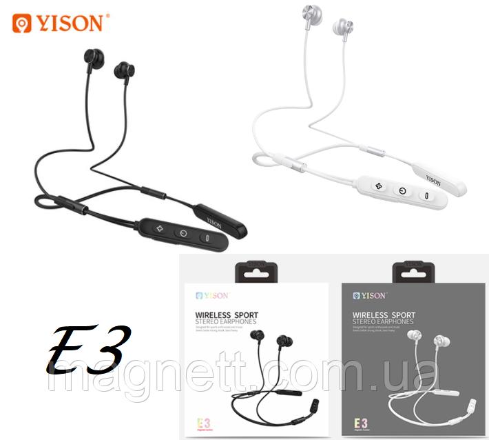Беспроводная мини стерео спортивные наушники Yison E3