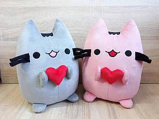 Мягкая игрушка Кот Пушин Pusheen - the cat с сердцем