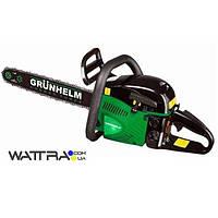 ⭐ Бензопила цепная (3.3 кВт) Grunhelm GS5200M Professional