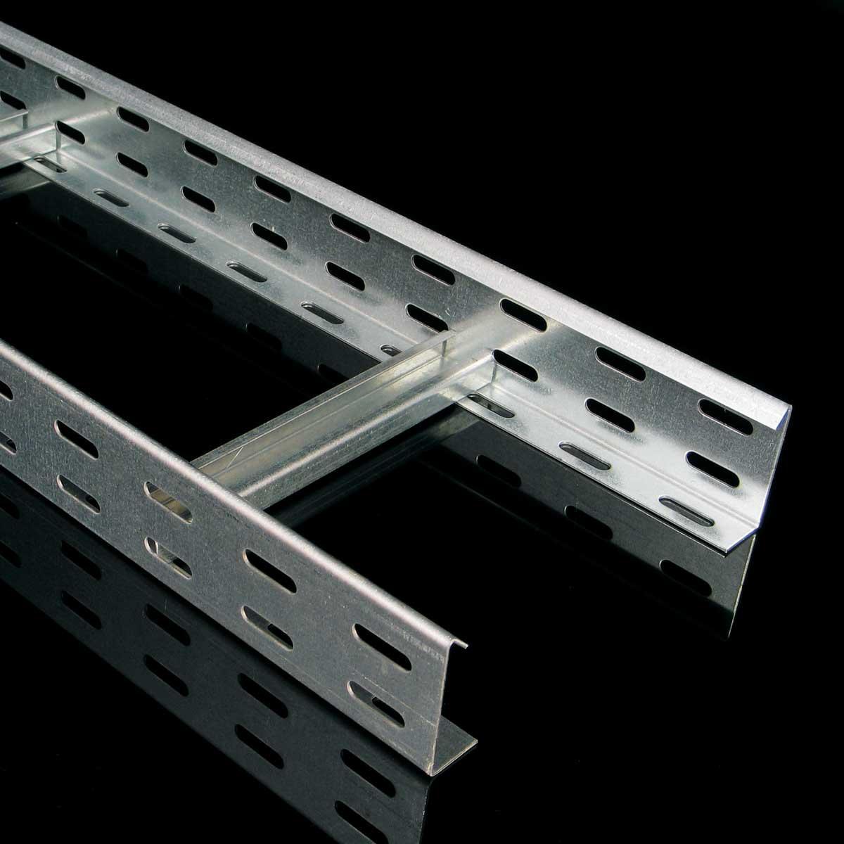 Лоток кабельний драбинного типу KOPOS; розміри-60x150x3000mm Товщ. метал-1,5 Вага-2,21кг/м