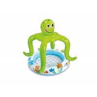 Детский надувной бассейн Intex 57115 «Осьминог», 102 х 104 см
