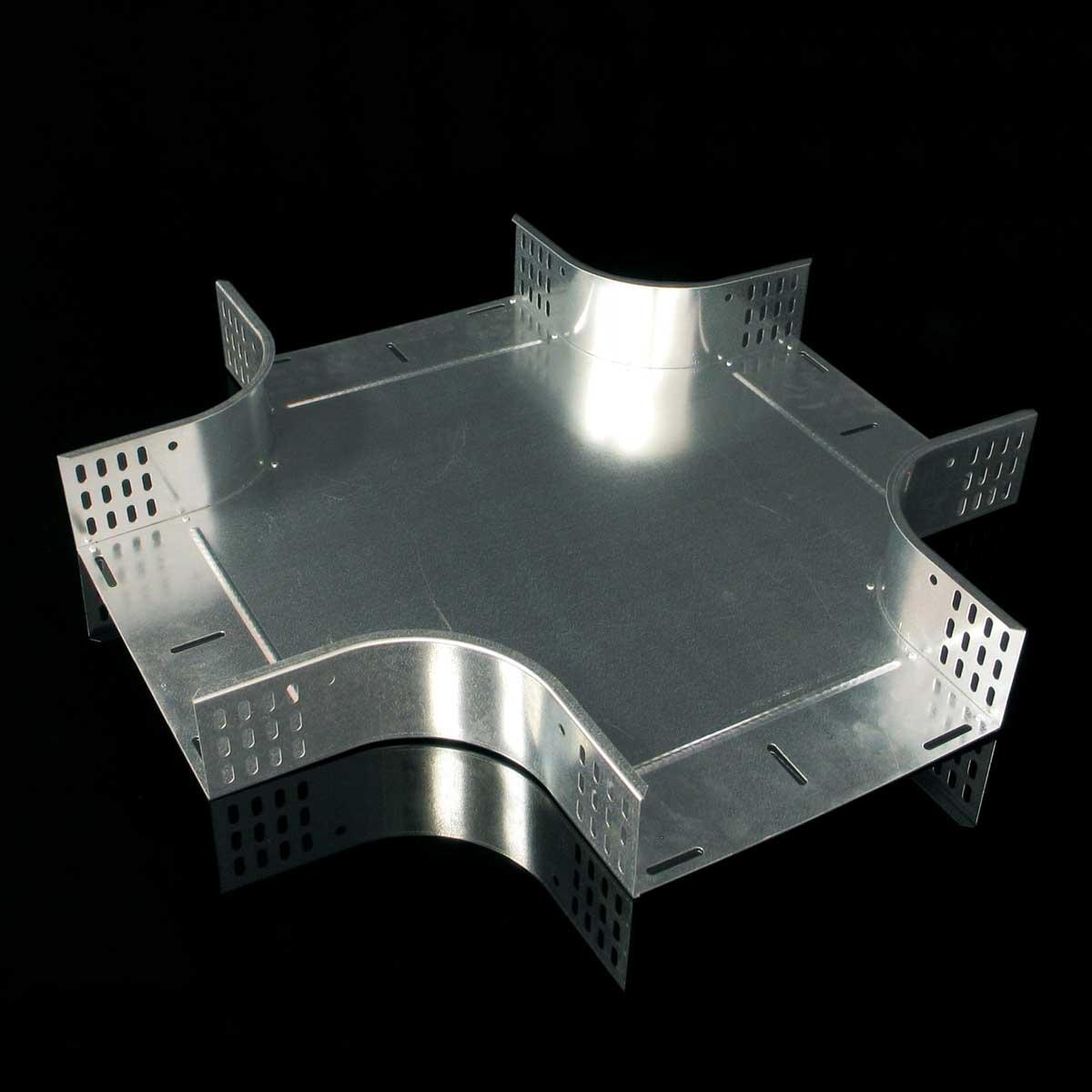 Відгалужувач хрестоподібний JUPITER; розміри-60x75x475mm Товщ. метал-0,8 Вага-1,5кг/м
