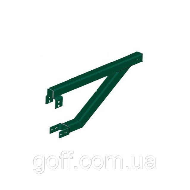 Кронштейн крепления улавливающей сетки (60х40)