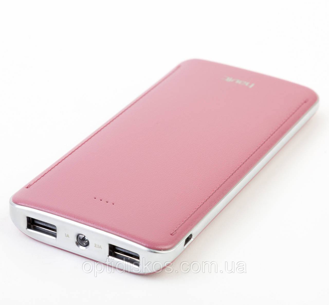 Повербанк Havit HV-PB005X, 10000mAh, 2.1А, розовый