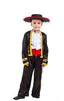 Детский карнавальный маскарадный костюм Испанец,тореадор размер:110-134 см