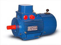 Двигатель с электромагнитным тормозом АИР 71 А4 Е (0,55 кВт/ 1500 об/мин))